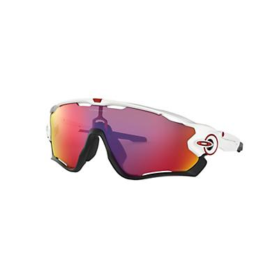 Oakley Jawbreaker Sunglasses - Polished White / Prizm Road