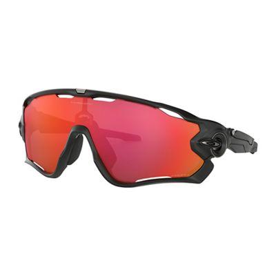 Oakley Jawbreaker Sunglasses - One Size - Matte Black/PRIZM Trail Torch