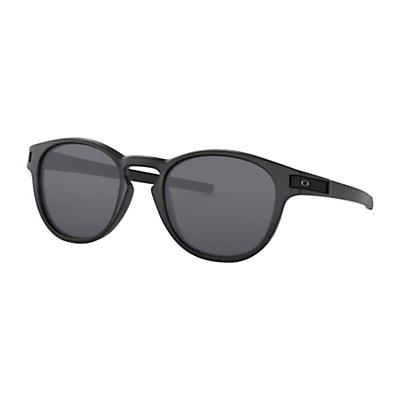 Oakley Latch Sunglasses - Matte Black / Grey