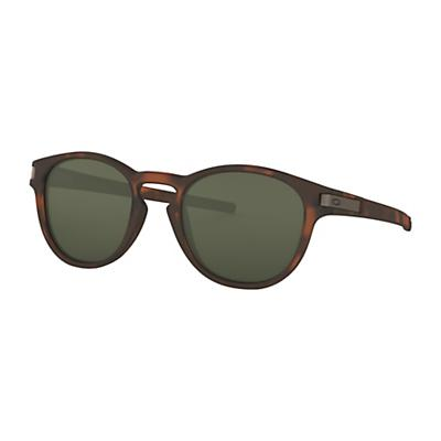 Oakley Latch Sunglasses - Matte Brown Tortoise / Dark Grey