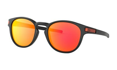 Oakley Latch Sunglasses - One Size - Aero Matte Carbon / PRIZM Ruby