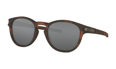 Oakley Latch Sunglasses - One Size - Brown Tortoise / PRIZM Black