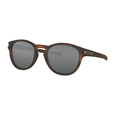 Oakley Latch Sunglasses - Brown Tortoise / Prizm Black