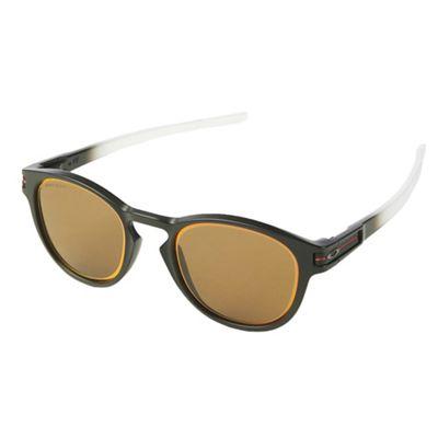 Oakley Latch Sunglasses - One Size - Matte Black / PRIZM Bronze / Ruby Iridium