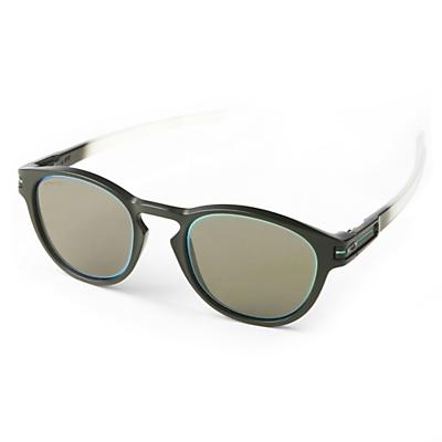 Oakley Latch Sunglasses - Matte Black Fade/PRIZM Grey/Jade