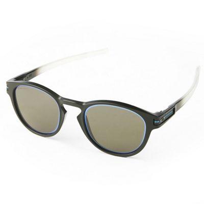 Oakley Latch Sunglasses - One Size - Matte Black Fade/PRIZM Grey/Sapphire