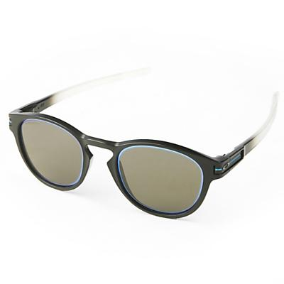 Oakley Latch Sunglasses - Matte Black Fade/PRIZM Grey/Sapphire