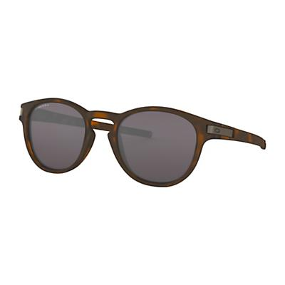 Oakley Latch Sunglasses - Matte Brown Tortoise/Prizm Grey