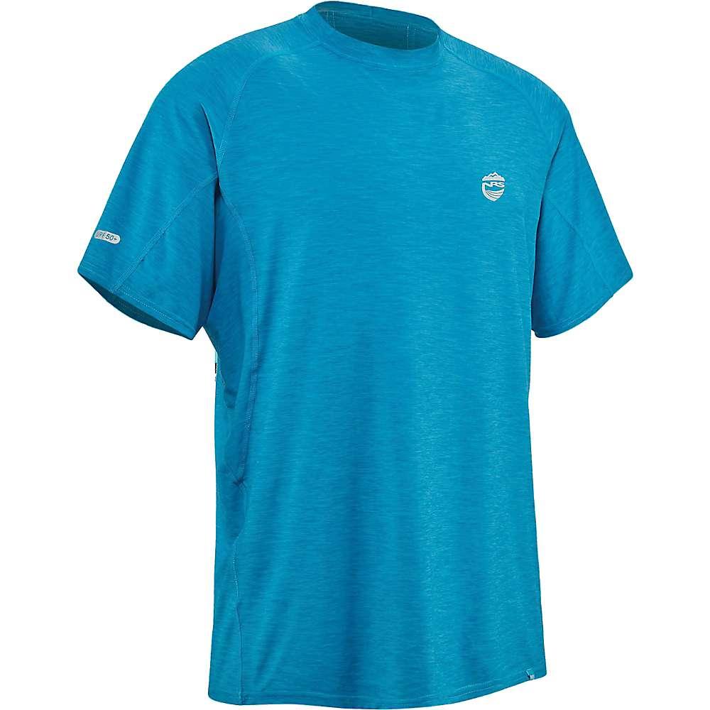 Reviews NRS Mens H2Core Silkweight SS Shirt - XL - Fjord