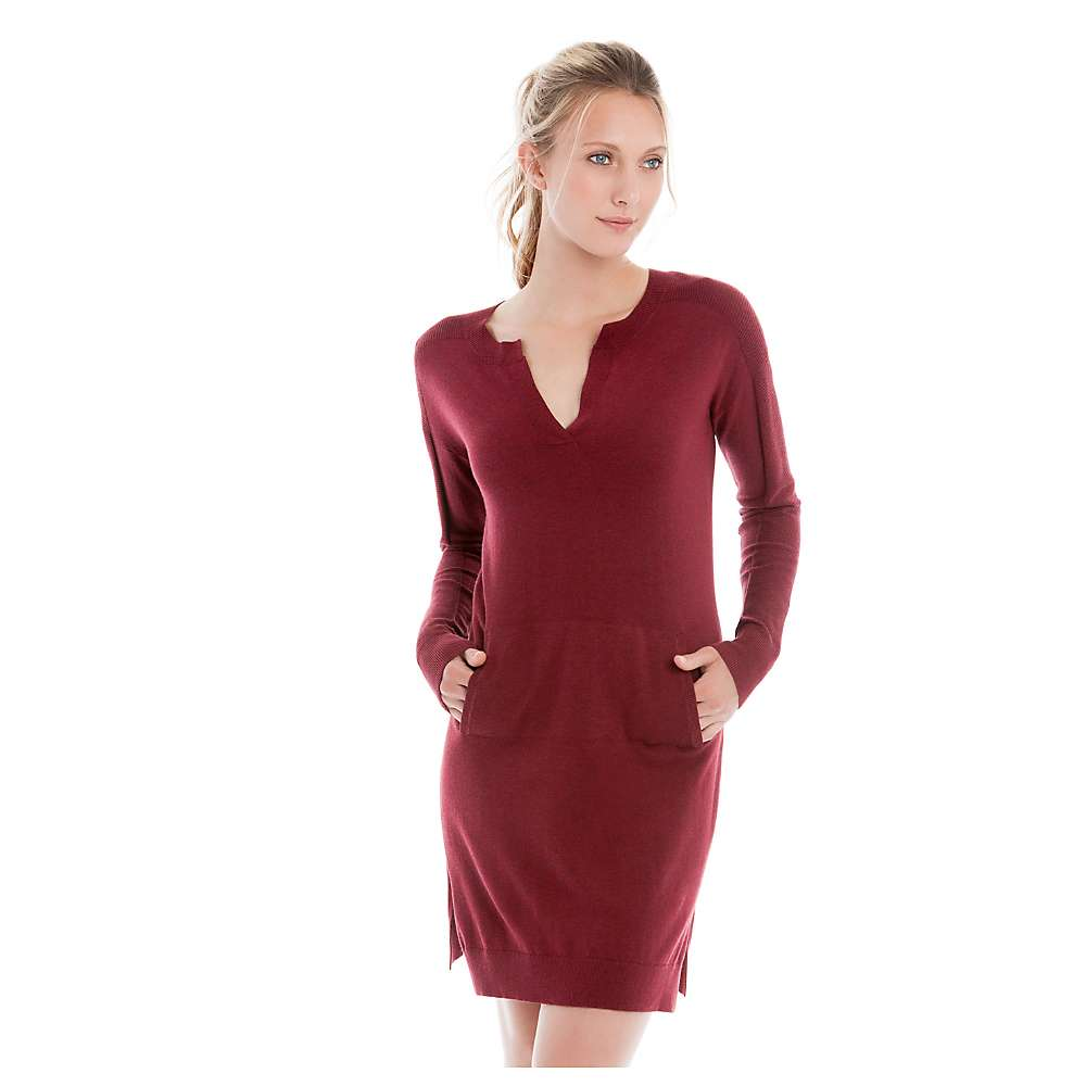 Lole Women's Mara Dress - Large - Rumba Red Heather