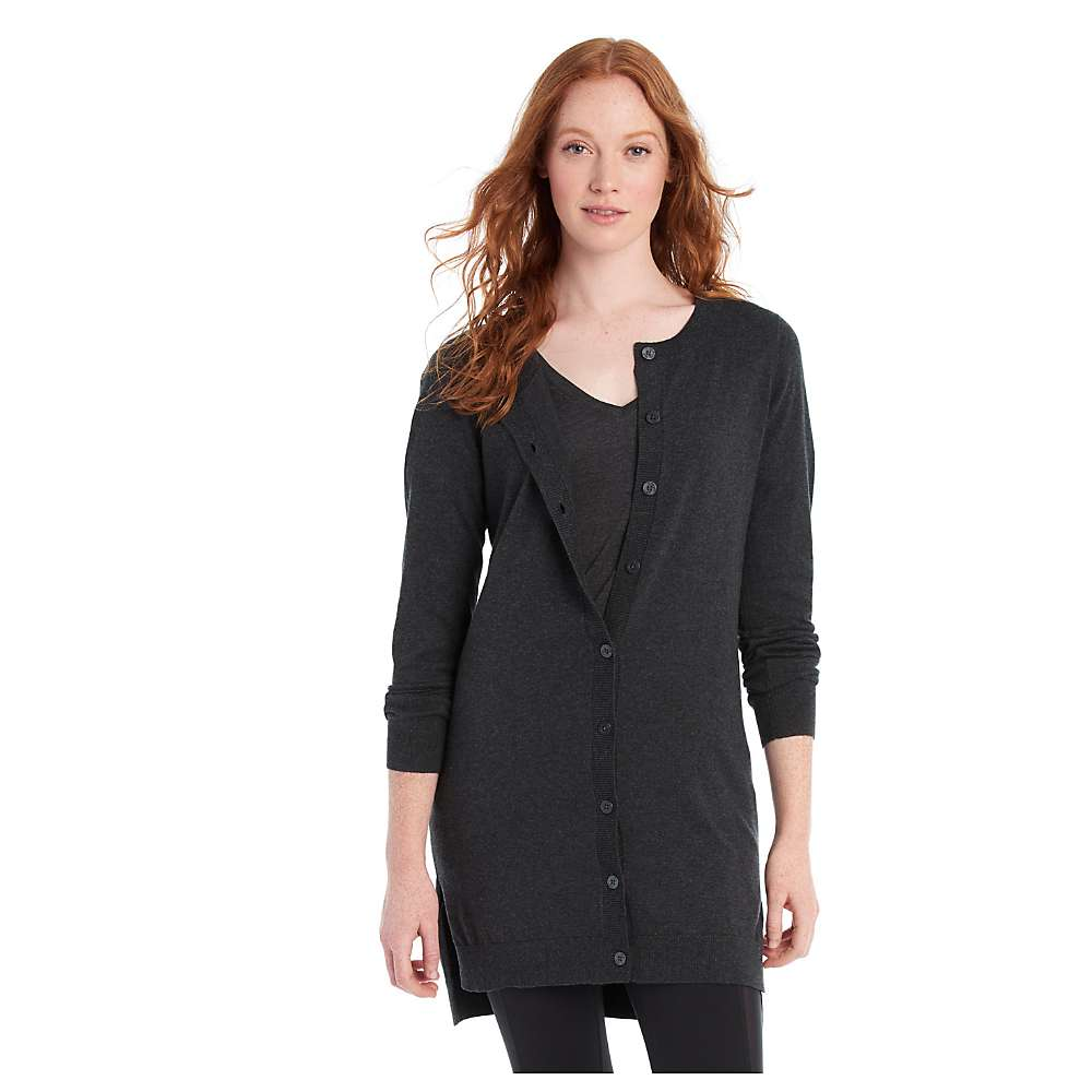 Lole Women's Miu Cardigan - Medium - Black Heather