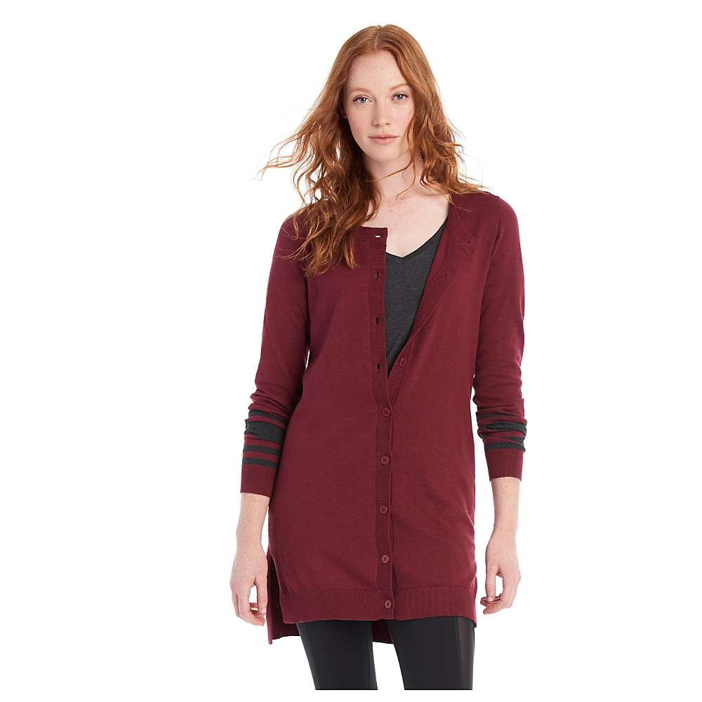 Lole Women's Miu Cardigan - Large - Rumba Red Heather