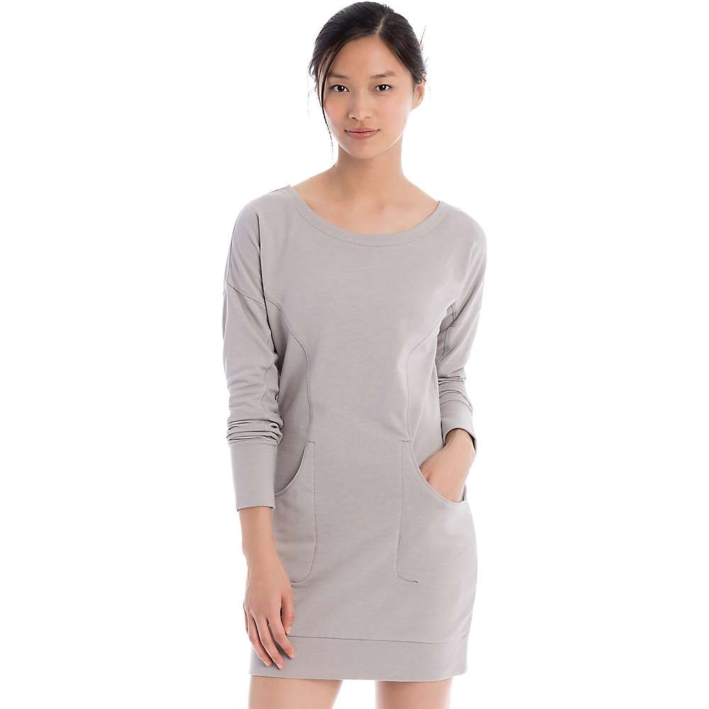 Lole Women's Sika Dress - Medium - Warm Grey Heather