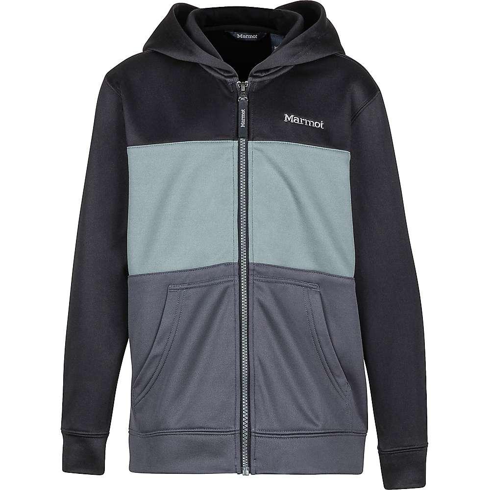 Marmot Boys' Rincon Hoody - XL - Black / Slate Grey