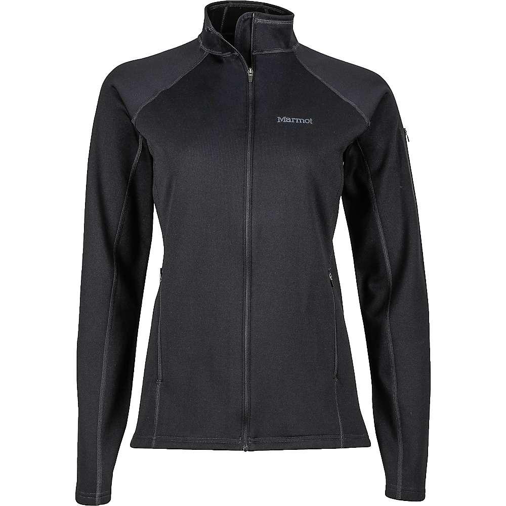 Marmot Women's Stretch Fleece Jacket - Large - Black