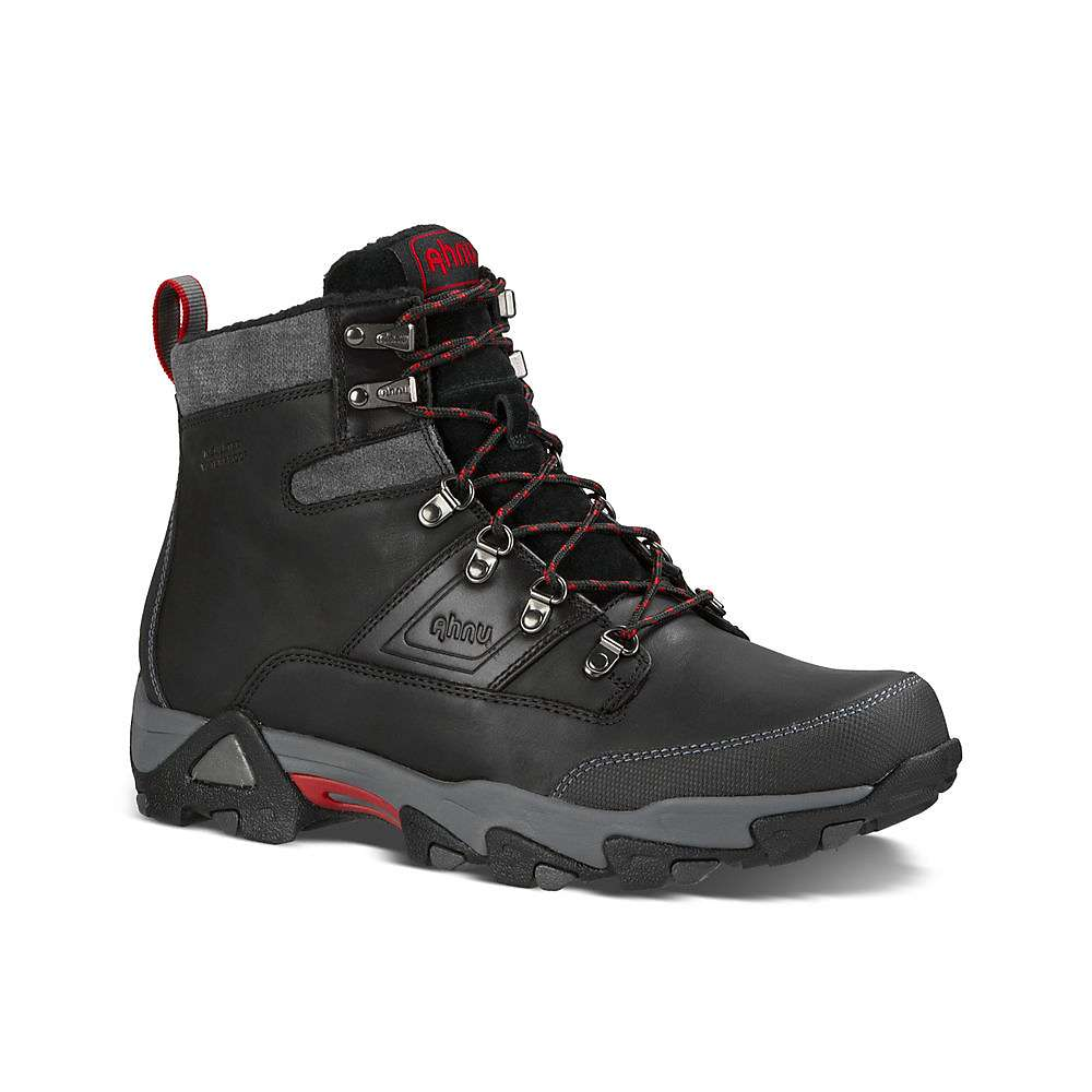 Ahnu Men's Orion Waterproof Insulated Boot - 9.5 - Black thumbnail