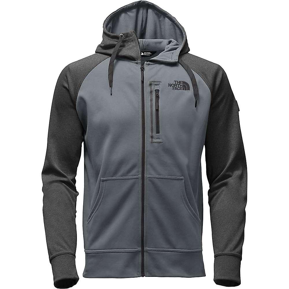 The North Face Men's Mack Mays Full Zip Hoodie - XXL - TNF Dark Grey Heather / Mid Grey