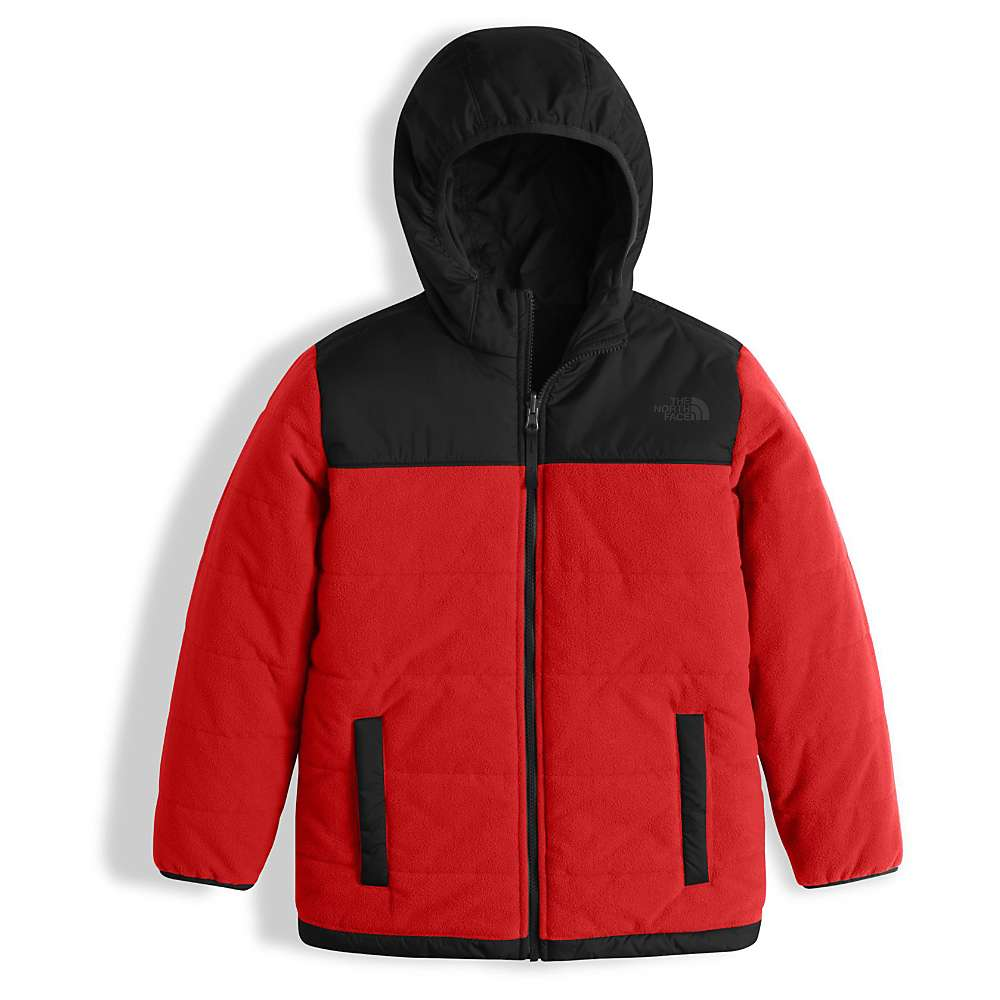 The North Face Boy's Reversible True Or False Jacket - Large - TNF Red / TNF Black