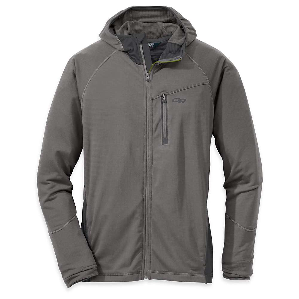 Outdoor Research Men's Transition Hoody - XL - Pewter / Charcoal