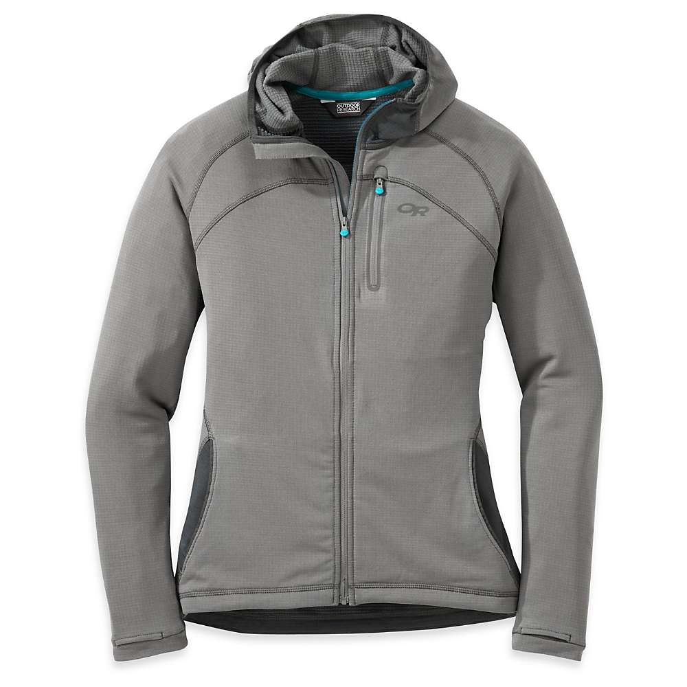 Outdoor Research Women's Transition Hoody - XL - Pewter / Charcoal