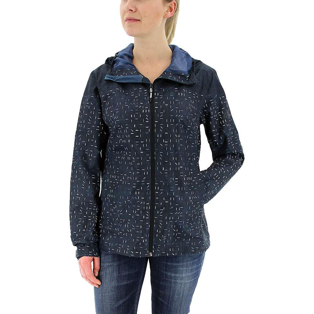 Adidas Women's Wandertag Print Jacket - Small - Mineral Blue