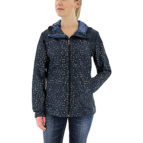Adidas Women's Wandertag Print Jacket Mineral Blue Adidas Women's Wandertag Print Jacket - Mineral Blue - in stock now. FEATURES of the Adidas Women's Wandertag Print Jacket Climaproof breathable, water and windproof material for use in extreme weather conditions adjustable hood for best protection and improved comfort Zip hand pockets and internal security pocket to keep all belongings safe