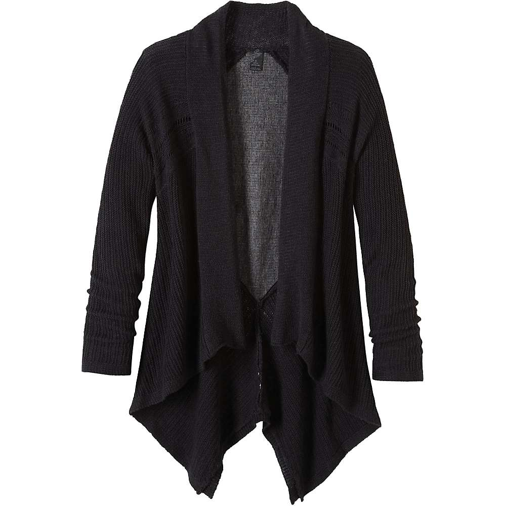 Prana Women's Diamond Sweater - XL - Black