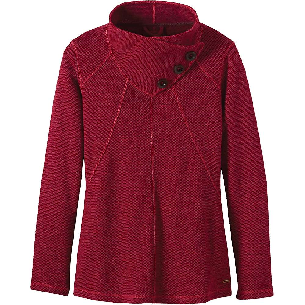 Prana Women's Ebba Tunic Sweater - Large - Sunwashed Red