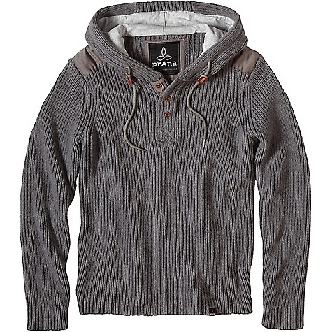 Click here for Prana Mens Hooded Henley Sweater prices