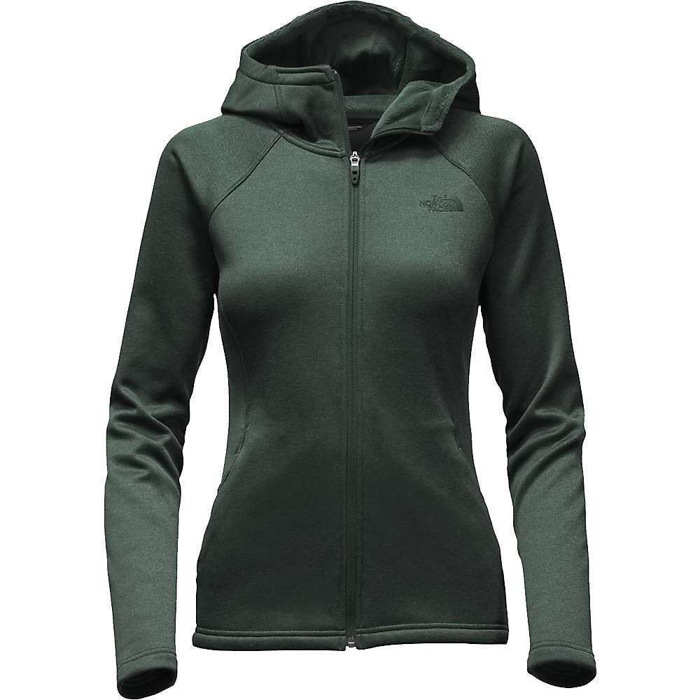 The North Face Women's Agave Hoodie - Small - Darkest Spruce Heather
