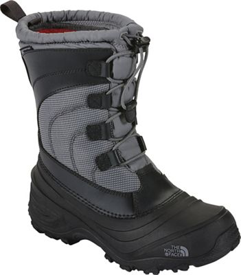 The North Face Youth Alpenglow IV Boot - Griffin Grey / Zinc Grey