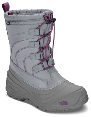 The North Face Youth Alpenglow IV Boot - Frost Grey / Wood Violet