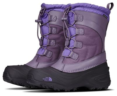 The North Face Youth Alpenglow IV Boot - Purple Sage / Dahlia Purple