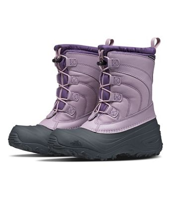 The North Face Youth Alpenglow IV Boot - Ashen Purple / Loganberry