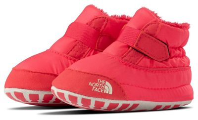 The North Face Infant Asher Bootie - Atomic Pink / Vintage White