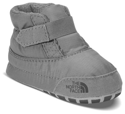 The North Face Infant Asher Bootie - 0 - Griffin Grey / High Rise Grey