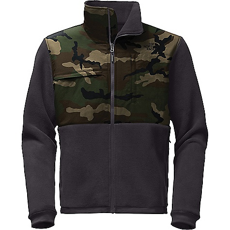 The North Face Men's Denali 2 Jacket Weathered Black / Terrarium Green Camo