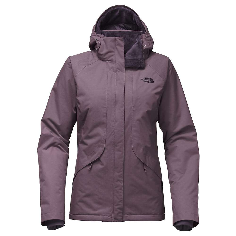 The North Face Women's Inlux Insulated Jacket - XS - Black Plum Heather