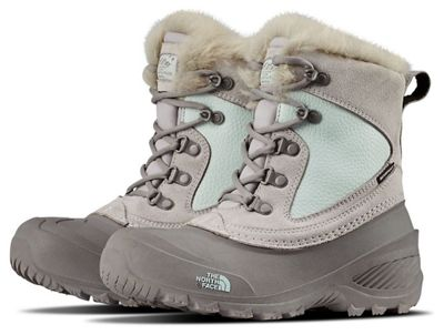 The North Face Youth Shellista Extreme Boot - Foil Grey / Icee Blue