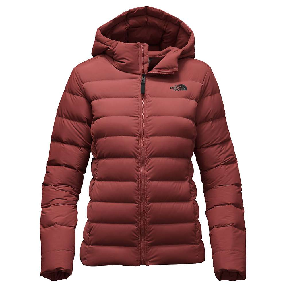 The North Face Women's Stretch Down Jacket - Small - Barolo Red