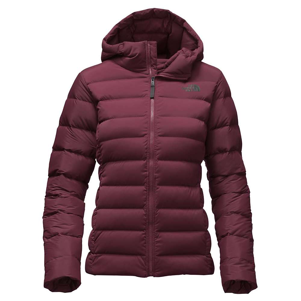 The North Face Women's Stretch Down Jacket - Small - Deep Garnet Red