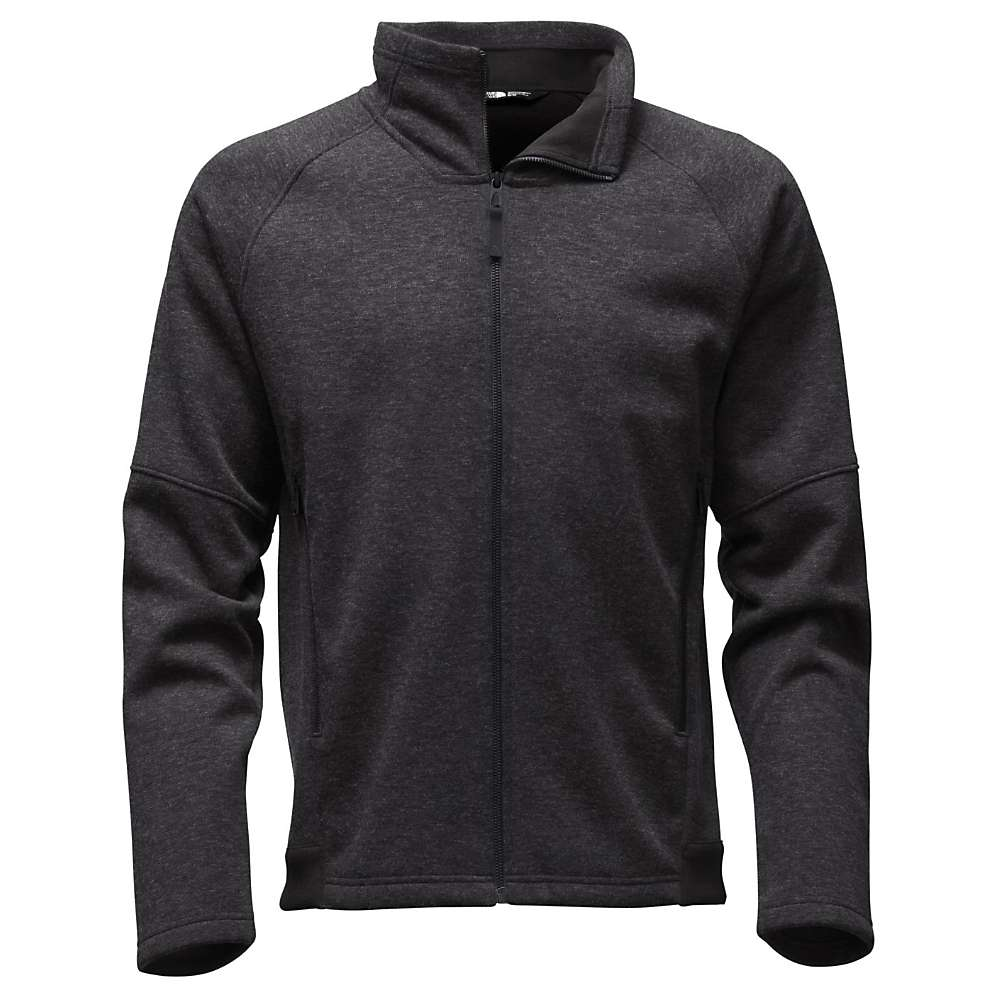 The North Face Men's Far Northern Full Zip Jacket - XXL - TNF Black Heather / TNF Black Heather