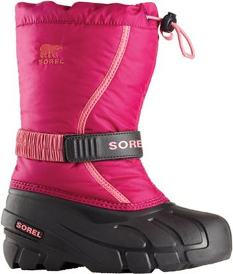 Sorel Youth Flurry Boot - Deep Blush / Tropic Pink