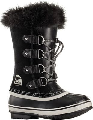 Sorel Youth Joan Of Arctic Boot - Black / Oyster
