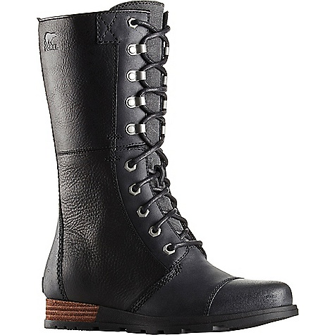 Sorel Women's Sorel Major Maverick Boot Black Sorel Women's Sorel Major Maverick Boot - Black - in stock now. FEATURES of the Sorel Women's Sorel Major Maverick Boot Upper: Suede and full-grain leather upper Canvas lining Footbed: Removable molded EVA footbed with arch support, textile knit topcover Midsole: Molded rubber midsole with full length EVA insert for comfort Outsole: Molded rubber outsole; leather wrapped heel