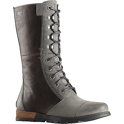 Sorel Women's Sorel Major Maverick Boot Quarry / Shark Sorel Women's Sorel Major Maverick Boot - Quarry / Shark - in stock now. FEATURES of the Sorel Women's Sorel Major Maverick Boot Upper: Suede and full-grain leather upper Canvas lining Footbed: Removable molded EVA footbed with arch support, textile knit topcover Midsole: Molded rubber midsole with full length EVA insert for comfort Outsole: Molded rubber outsole; leather wrapped heel