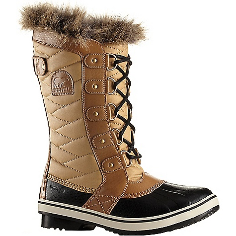 Sorel Women's Tofino II Boot Curry / Fawn Sorel Women's Tofino II Boot - Curry / Fawn - in stock now. FEATURES of the Sorel Women's Tofino II Boot Upper: Waterproof coated canvas upper or textile upper faux fur collar Waterproof breathable membrane construction Fleece lining 100g insulation Footbed: Removable molded EVA footbed, microfleece topcover Midsole: Rubber Outsole: Molded rubber outsole