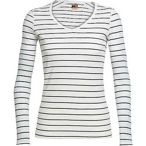 Icebreaker Oasis LS V Neck Top