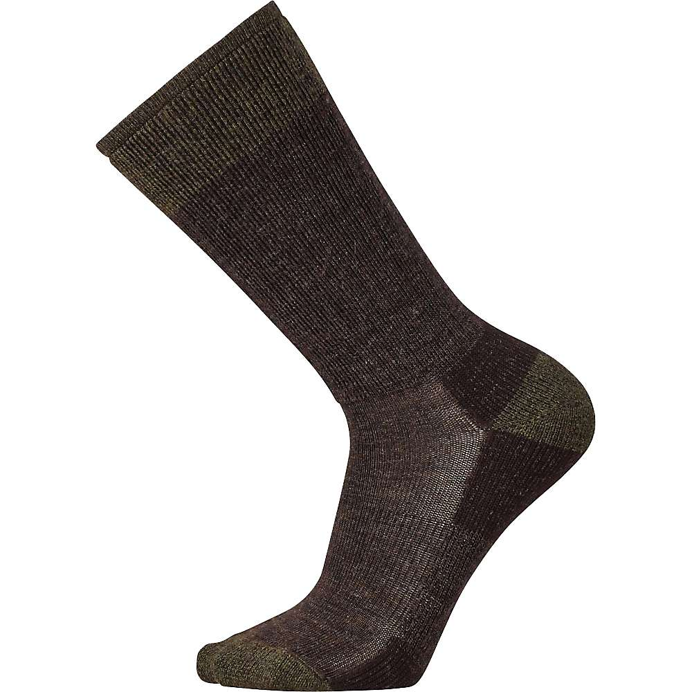 Smartwool Men's Heathered Hiker Crew Sock - Large - Chestnut
