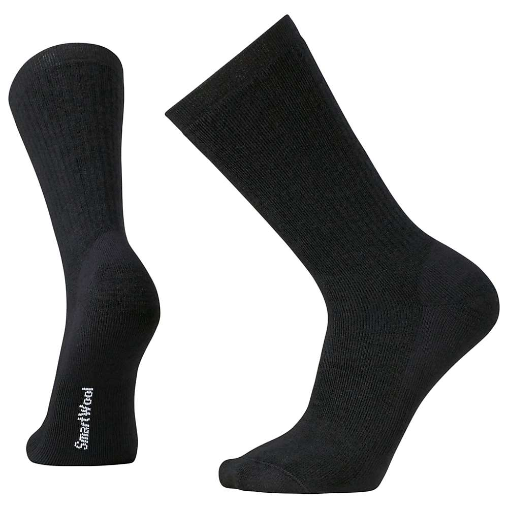 Smartwool Men's Heavy Heathered Rib Sock - Medium - Black